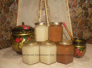 Мёд кипрейный и разнотравный севший