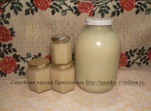 Мёд кипрейный закристализованный